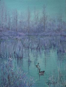 Blue Marsh by Joyce Nash