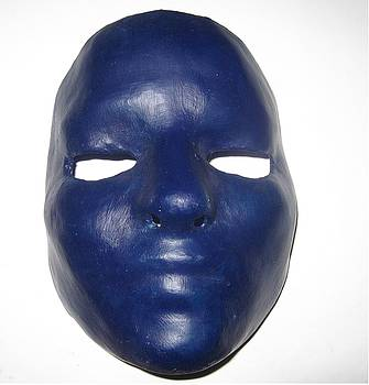 Blue Mask by Littl Ivy