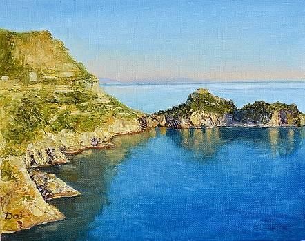 Blue Mediterranean Morning by Dai Wynn