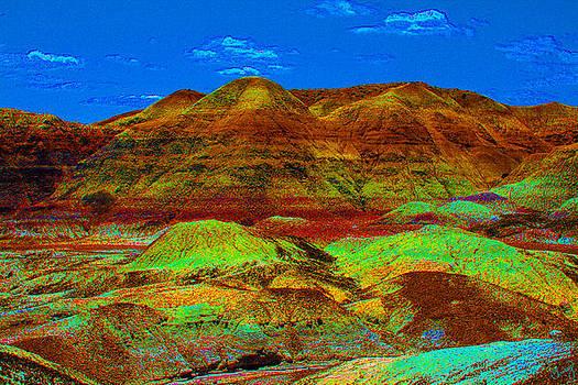 Blue Mesa Dreaming by Chrissy Skeltis