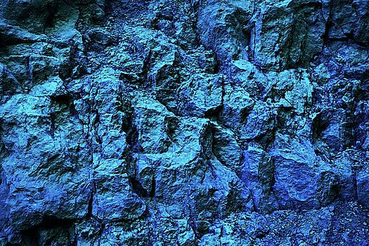 Blue Metallic Texture by Evgeniya Lystsova