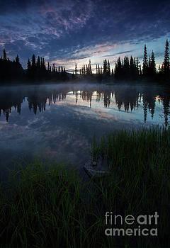 Blue Mist Dawn by Mike Dawson