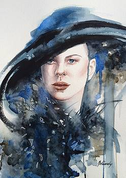 Blue Mood by Beata Belanszky-Demko
