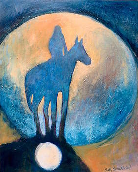 Blue Moon Rider by Sally Sweetland