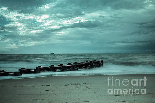 Blue Morning at Rehoboth by Melissa Fague
