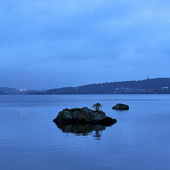 Blue Morning Pyynikki by Jouko Lehto