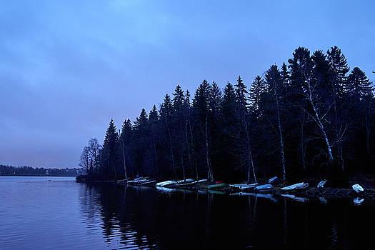 Blue Morning  Rantaperkio by Jouko Lehto