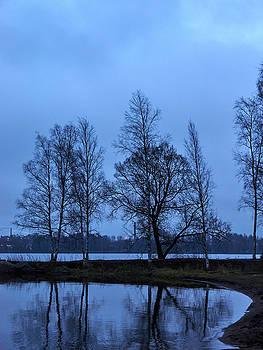 Blue Morning Tampere City view by Jouko Lehto