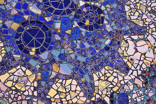 Jill Lang - Blue Mosaic Tiles