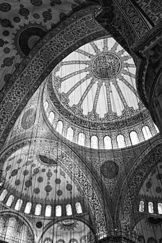 Blue Mosque by Leslie Leda