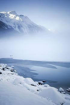 Blue mountain fog by Michele Cornelius