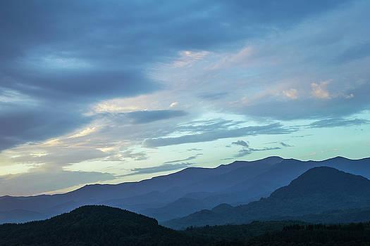 Blue mountain by Julien Van Dommelen