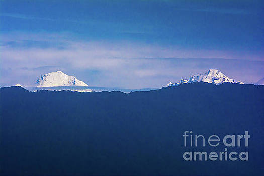 Blue Mountain by Kumud Parajuli