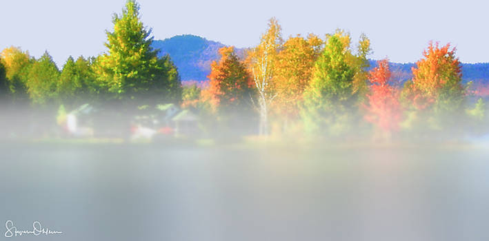Steve Ohlsen - Blue Mountain Lake 8 - Mist off the Lake - Signed Limited Edition