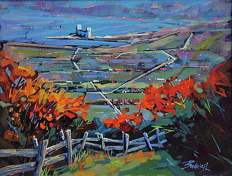 Blue Mountain October by Brian Buckrell