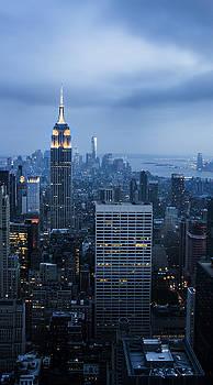 Blue New York by Jed Holtzman