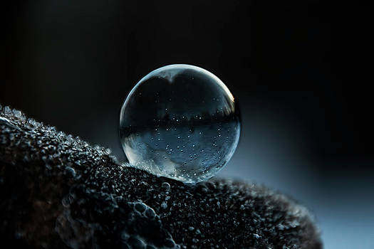 Blue Night Bubble by Christina VanGinkel