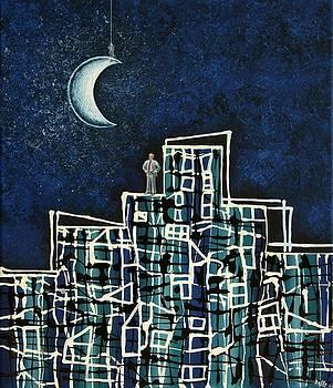 Blue Night by Graciela Bello