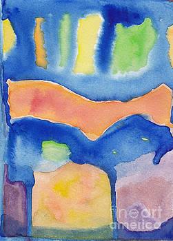Blue Night Ride by Ebba Jahn