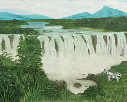 Blue Nile Falls by Elizabeth Hannah
