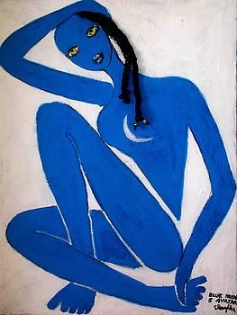Blue Nude 5 Avatar by Elena Buftea
