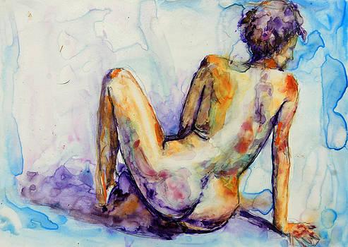 Blue Nude by Elisha Dasenbrock