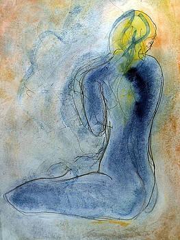 Blue Nude by Joe Scoppa