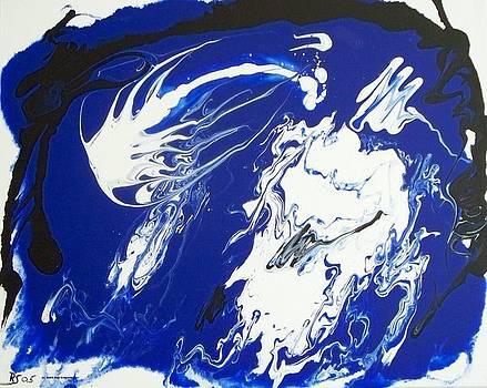 Blue number 9 by Rod Schneider