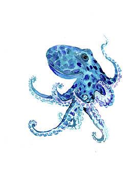 Blue Octopus by Suren Nersisyan