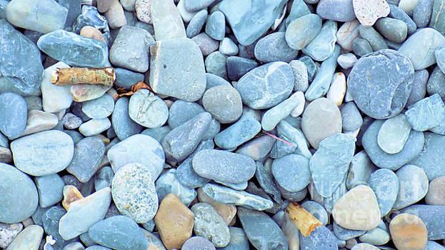 Blue Pebbles by Mike O'Hagan