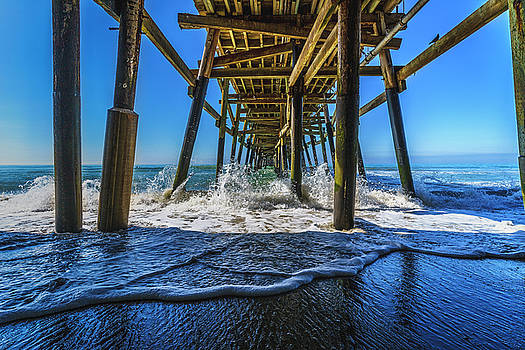 Blue Pier by LiveforBlu Gallery