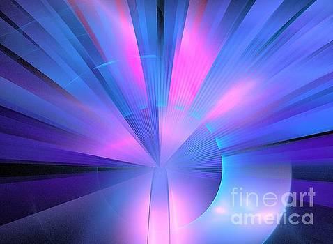 Blue Pink Beacon by Kim Sy Ok