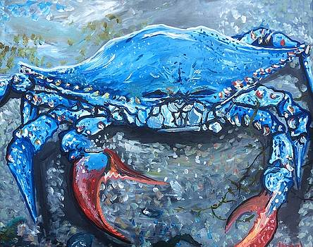 Blue-Point Crab by Israel Fickett