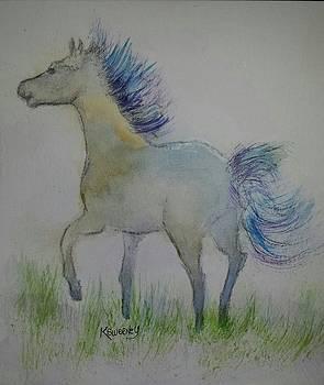 Blue Pony by Kathy Sweeney
