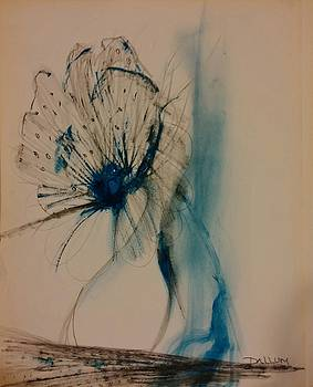Blue Poppy by Gregory Dallum
