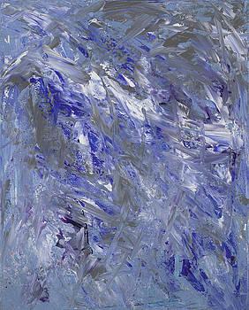 Blue Purple by Megan Morris Collection