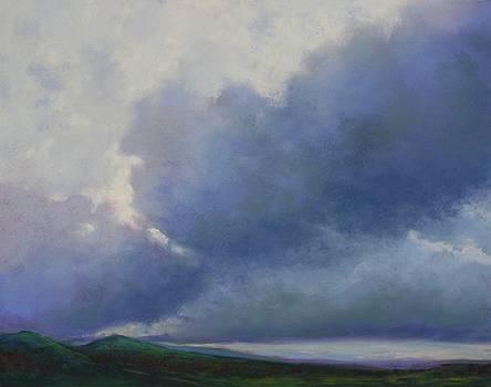 Blue Ridge Clouds by Regina Calton Burchett