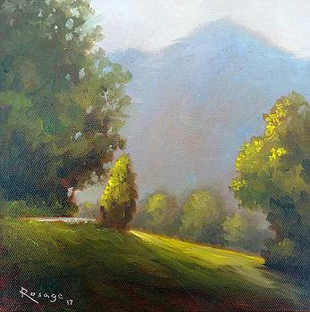 Blue Ridge Morning Light by Bernie Rosage Jr