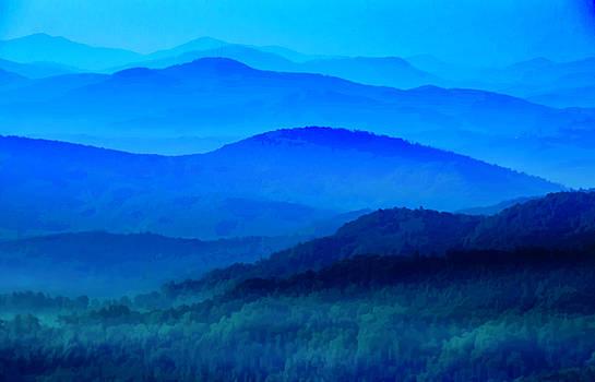 Blue Ridge Mountain Blues by Roger McBee