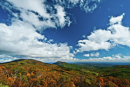 Blue Ridge Mountains In the Fall 2 by Lara Ellis