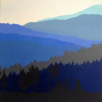 Blue Ridge Mountains by Ivy Stevens-Gupta