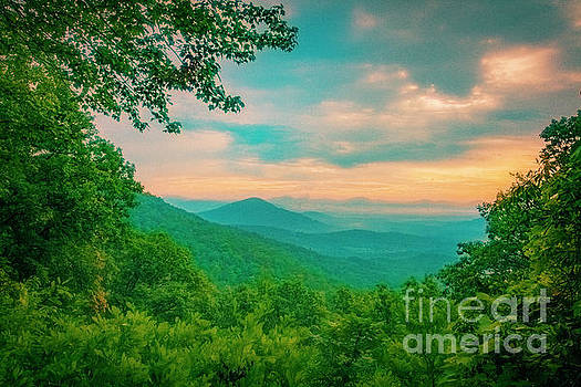 Blue Ridge Mountains by Katya Horner