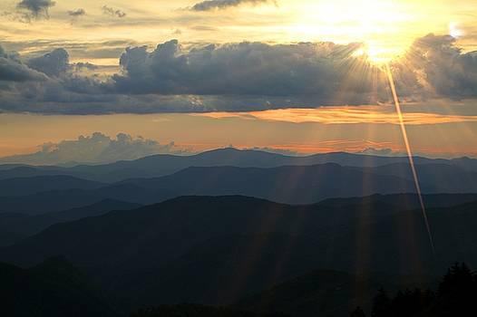 Blue Ridge Mountains Majesty by Carol Montoya