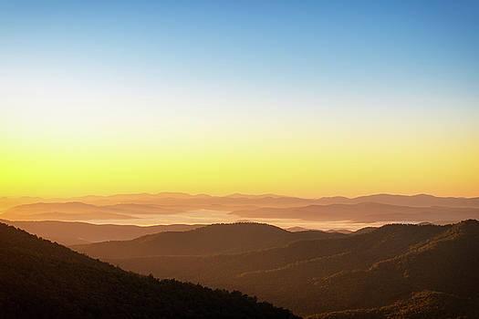 Blue Ridge Mountains Sunrise by Scott Masterton