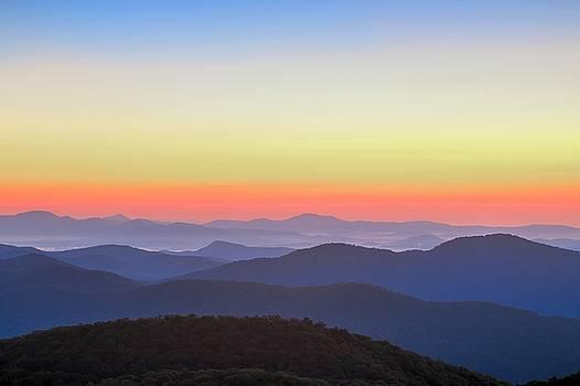 Blue Ridge Mountains Vista by Carol Montoya