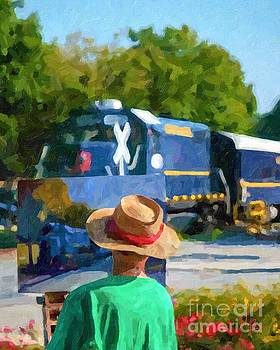 Blue Ridge Painter by Tammy Lee Bradley