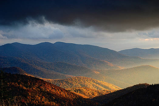 Blue ridge parkway 5 by Itai Minovitz