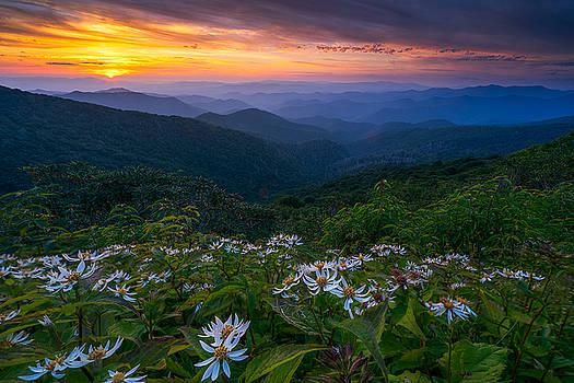 Blue Ridge Parkway - Ashokan Farewell  by Jason Penland