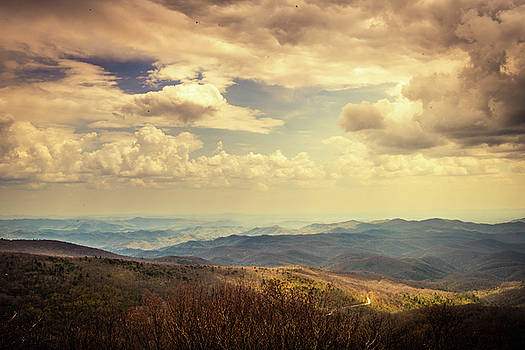 Blue Ridge Parkway by Cynthia Wolfe