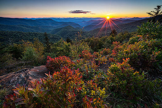 Blue Ridge Parkway - Chill of an Early Fall by Jason Penland